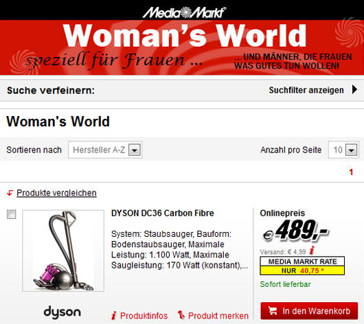 Media Markt Woman's World